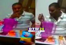 शराब पीते वीडियो वायरल मामले में भाजपा जिलाध्यक्ष के विरूद्ध प्राथमिकी दर्ज